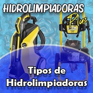 Tipos de hidrolimpiadoras